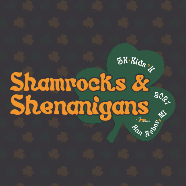 SHAMROCKS CALENDAR SQUARE